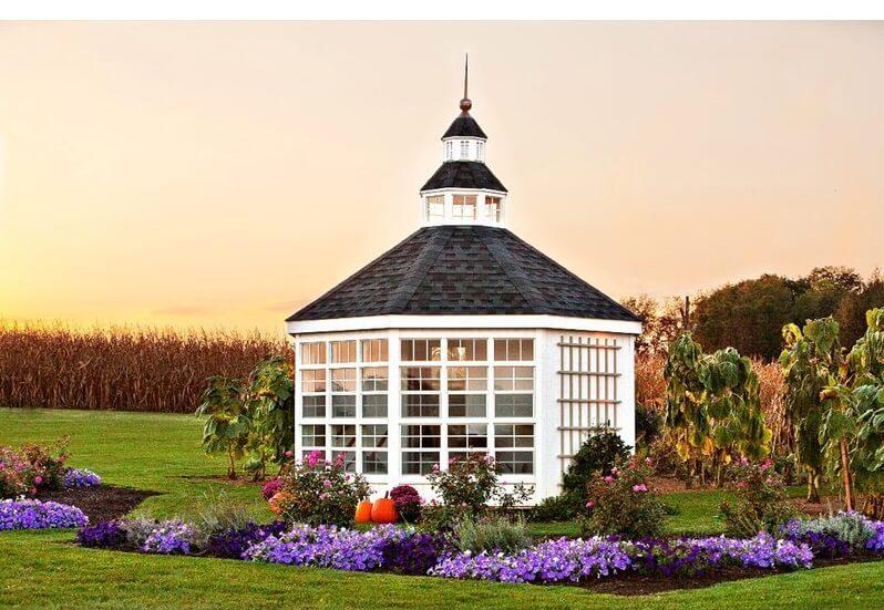 12' x 12' Storage Shed Greenhouse