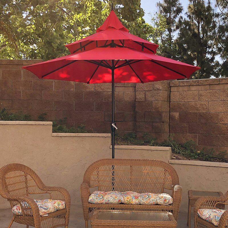 3-Tier Patio Umbrella
