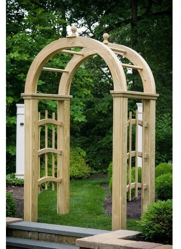 deluxe rounded arbor
