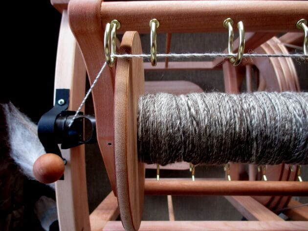 how to spin wool