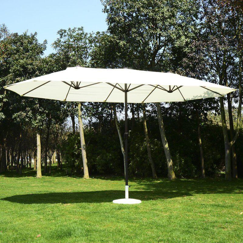 Large 15-foot Patio Umbrella