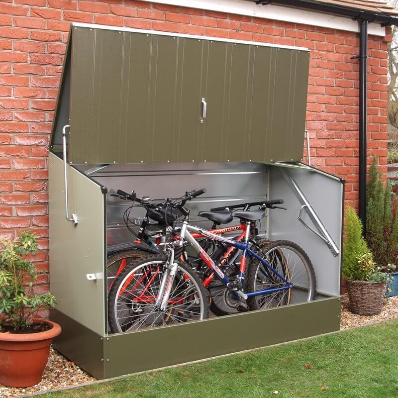 Metal Horizontal Storage Shed