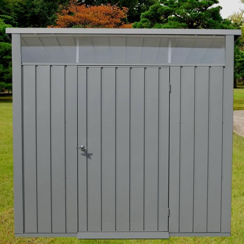 Modern Single Door Storage Shed