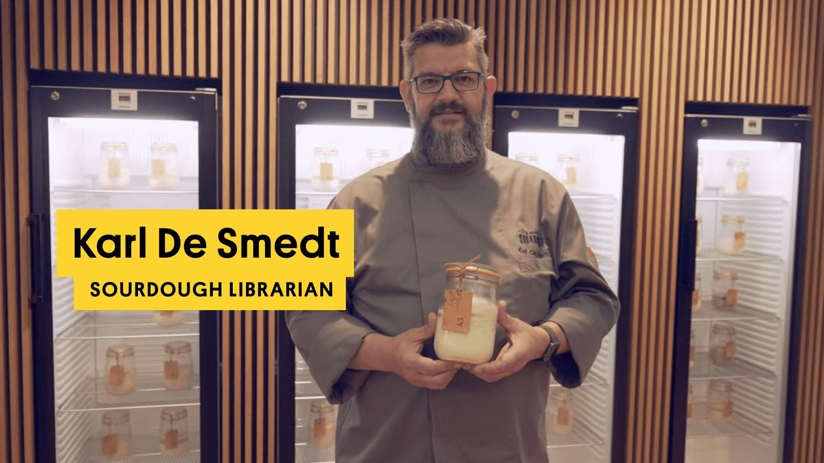 Karl De Smedt sourdough librarian