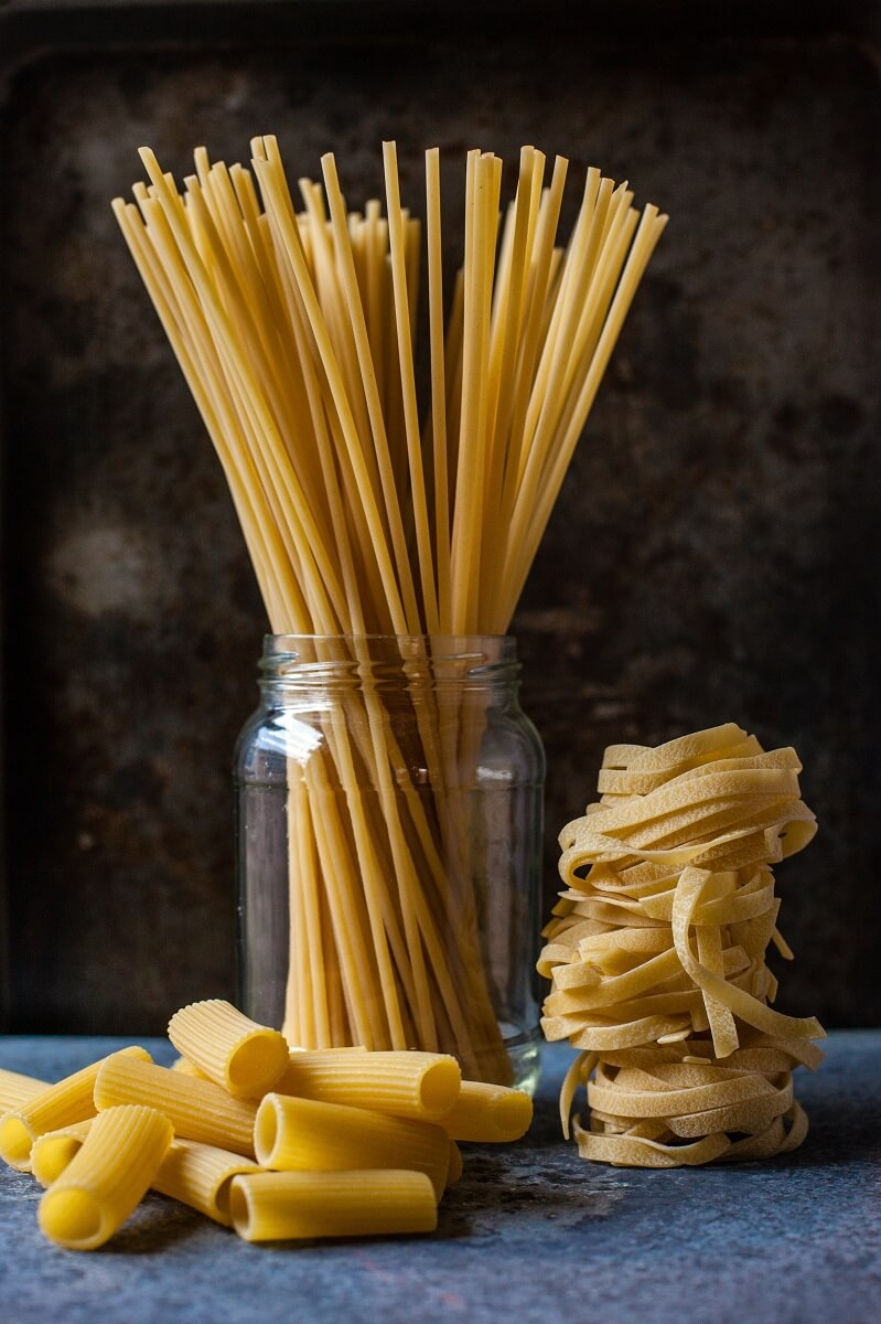 different types of noodles