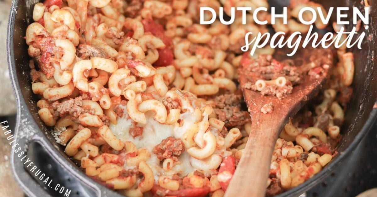 dutch oven spaghetti