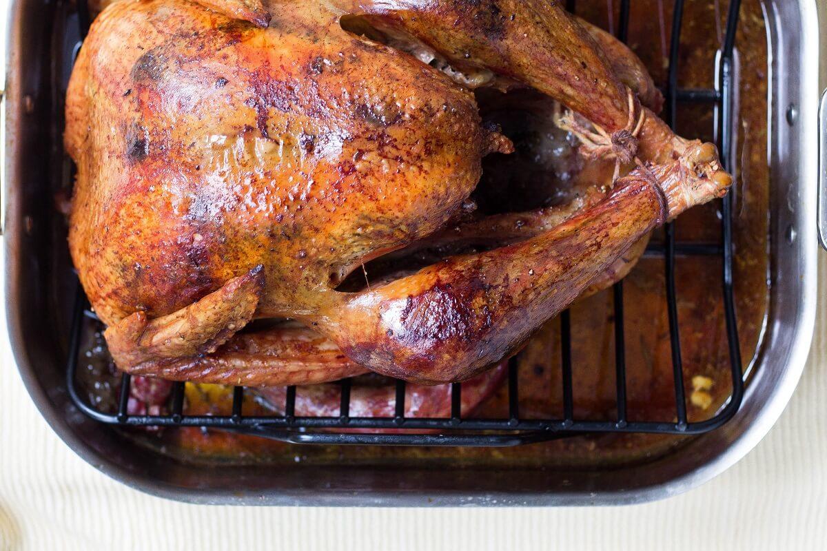 turkey roasting