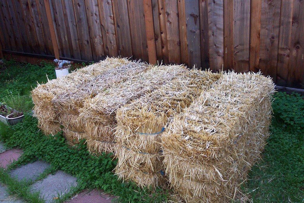 The Basics Of Straw Bale Gardening