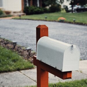 driveway and mailbox