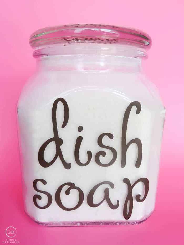 streak-free DIY dishwasher detergent