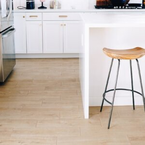 clean kitchen floors