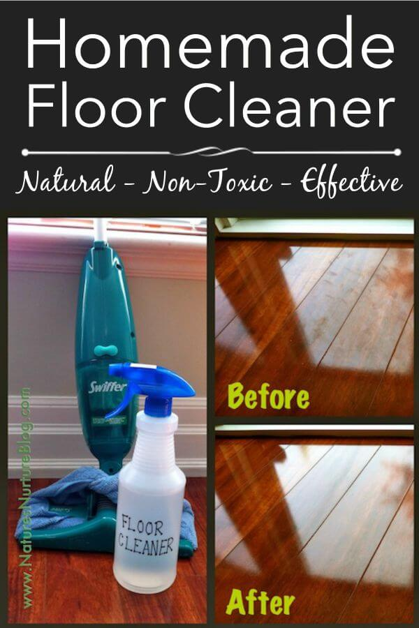 20 Homemade Floor Cleaners For A Sparkly Clean House
