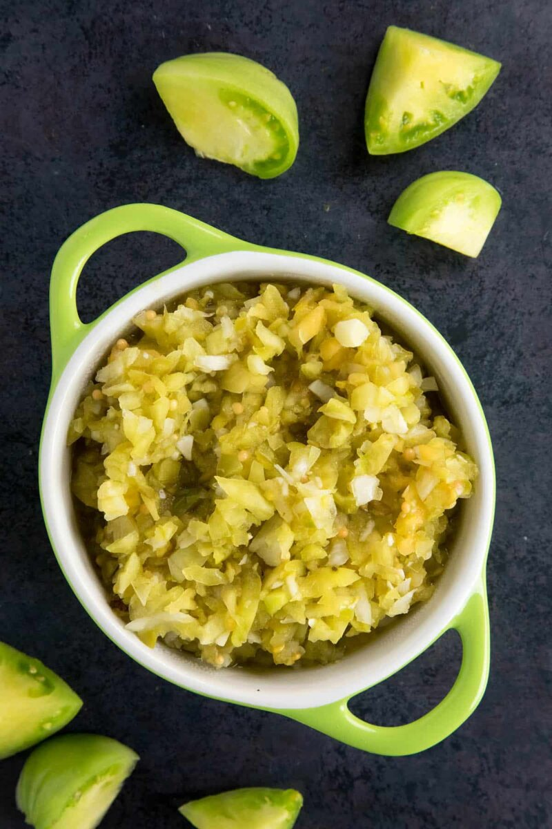 green tomato relish recipe