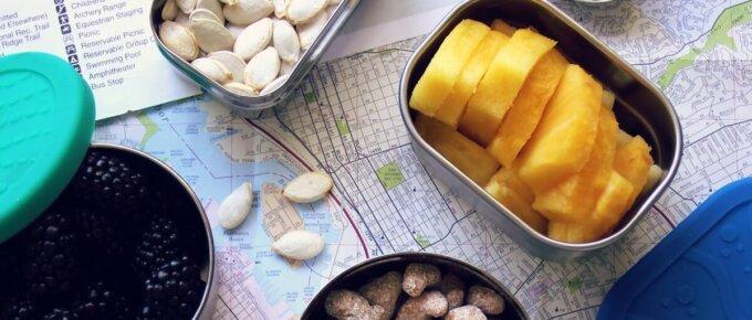 easy road trip foods