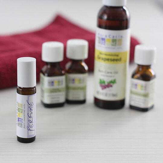 frankincense and ylang ylang diy perfume