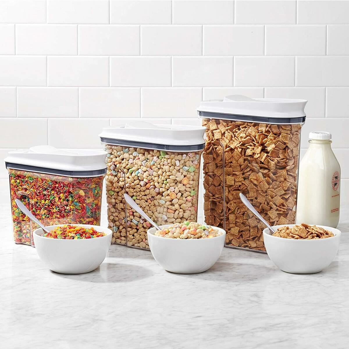 oxo cereal storage bins