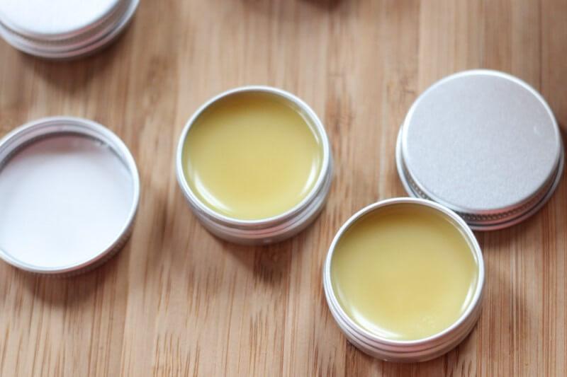 DIY solid essential oil perfume