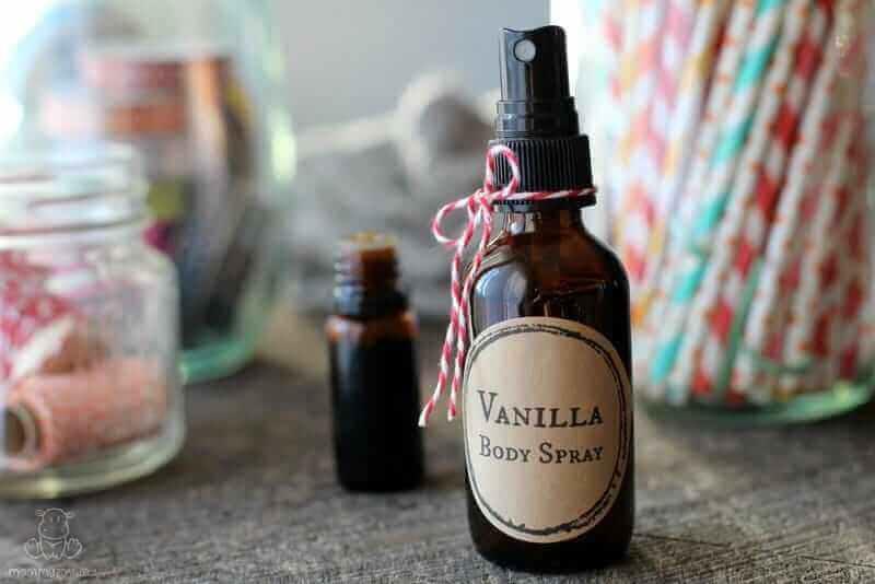 vanilla body spray