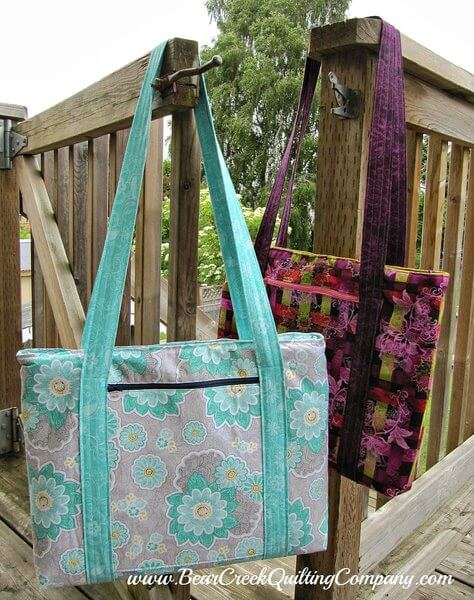 laptop bag sewing projects