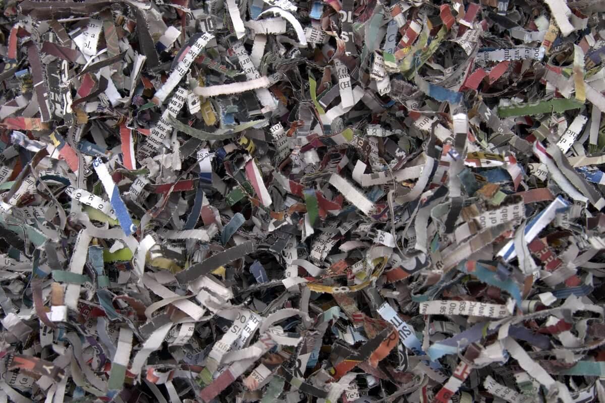 uses for shredded paper