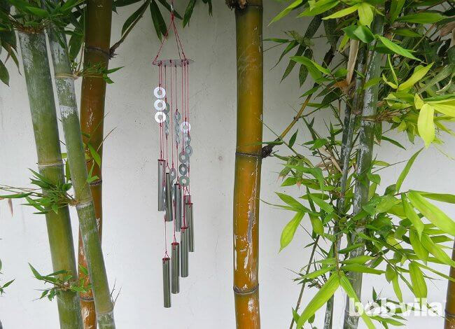 simple 1-hour wind chimes