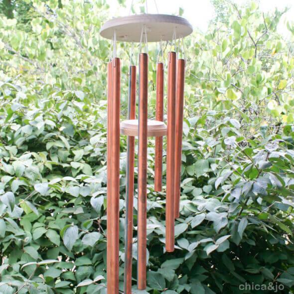 copper pipe diy wind chimes