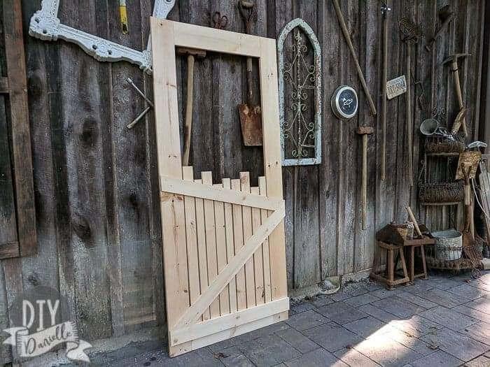 diy screen door ideas wood