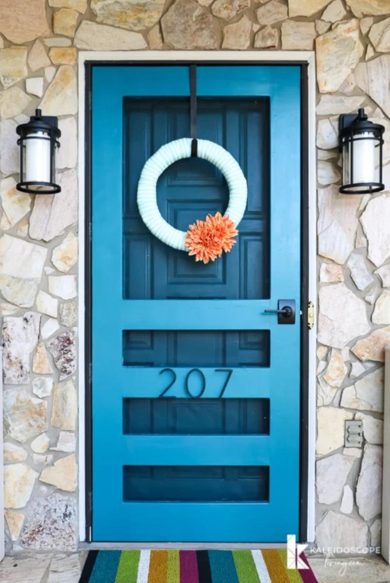 modern DIY screen door ideas