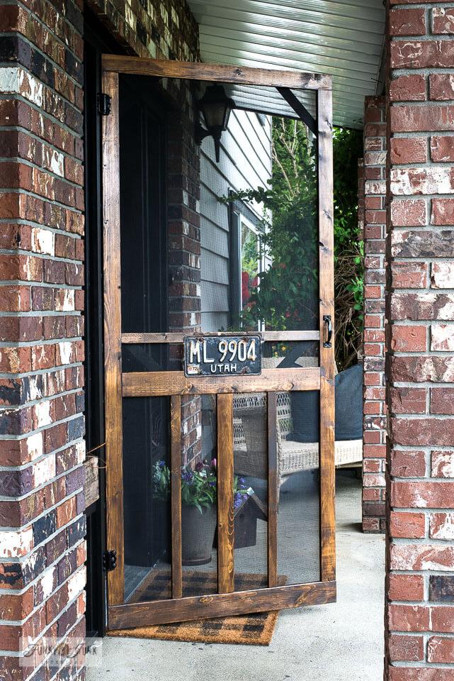 rustic screen door ideas