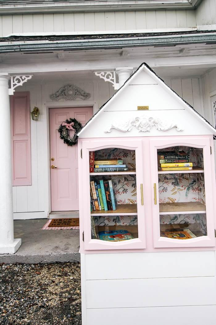 victorian-style little free library plans