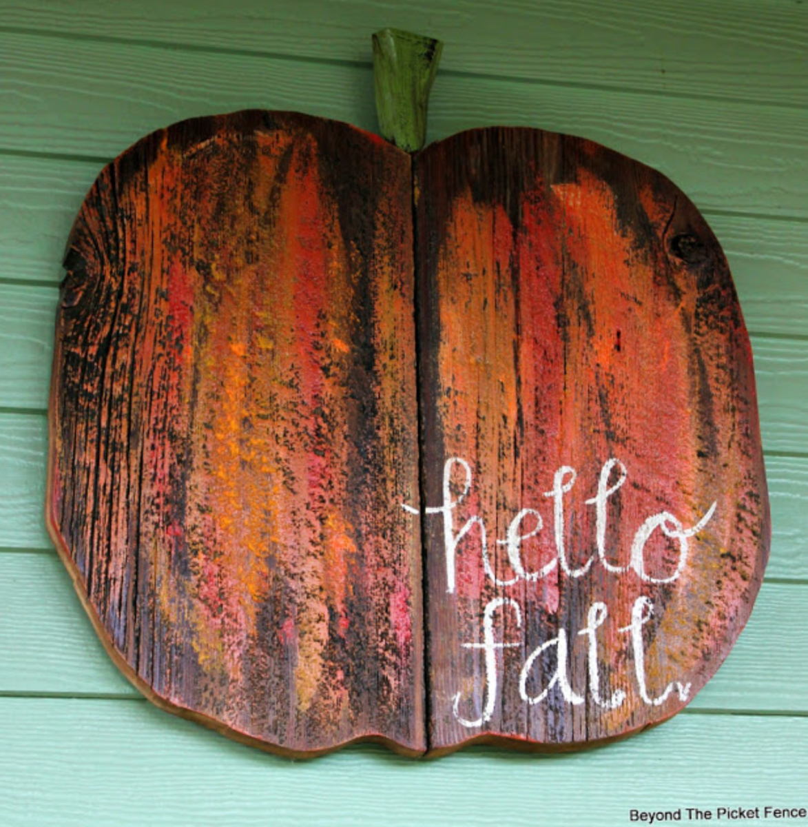 hello fall pumpkin