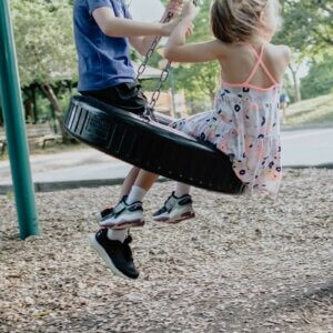 tire swing ideas