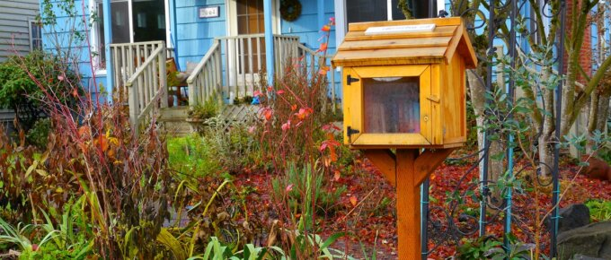 little free library plans