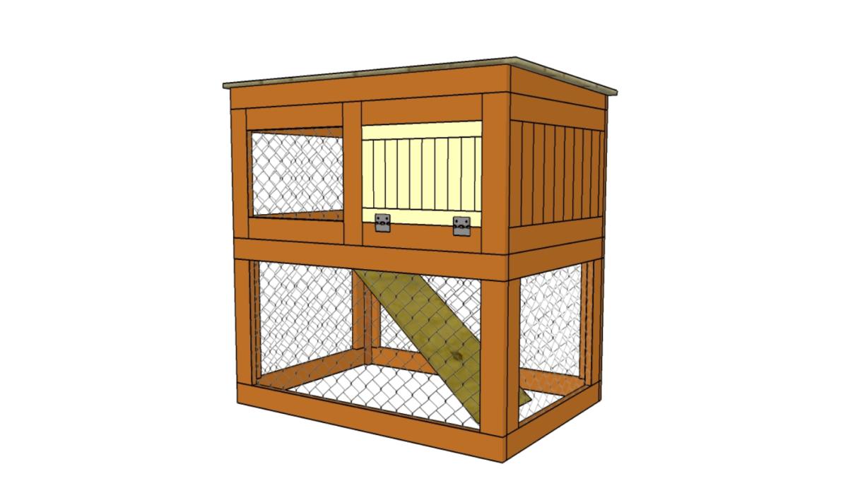 double decker rabbit hutch plans
