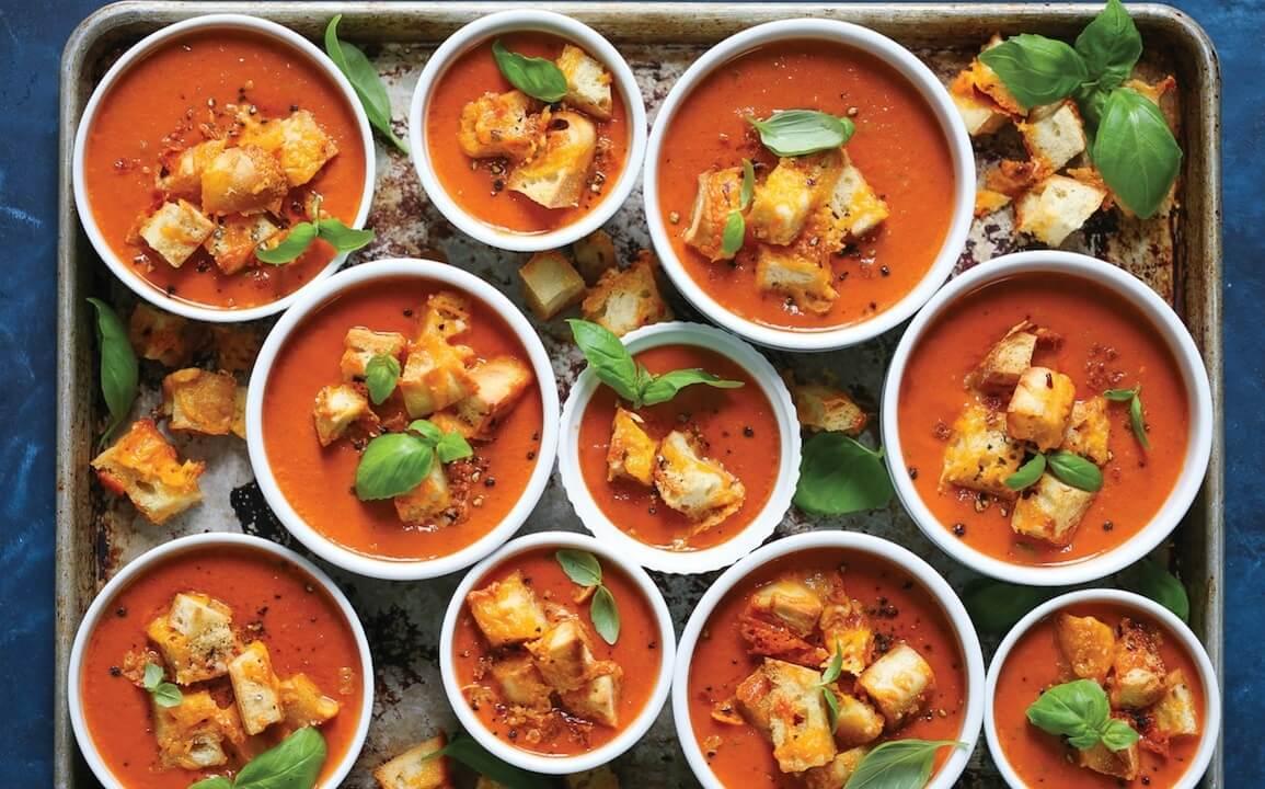 roasted tomato fall soup recipes