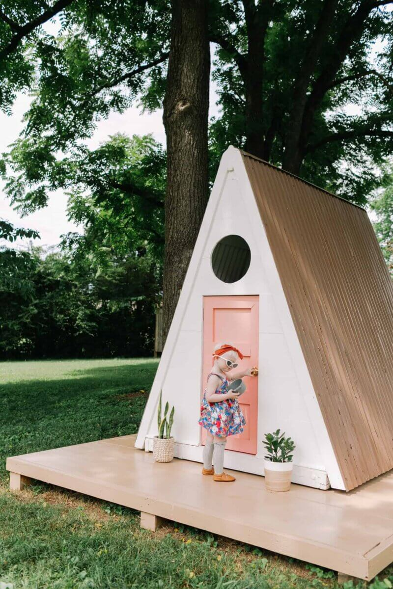 a-frame playhouse plans