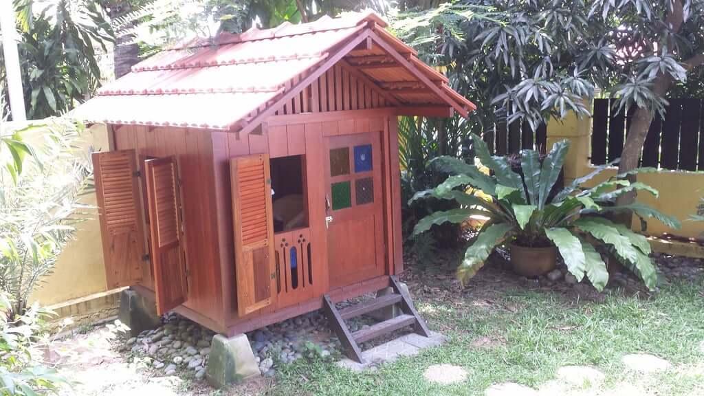 bali-style playhouse