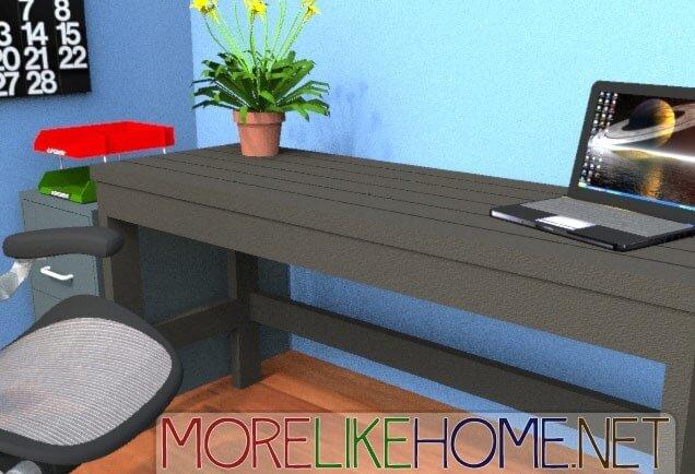 casual desk