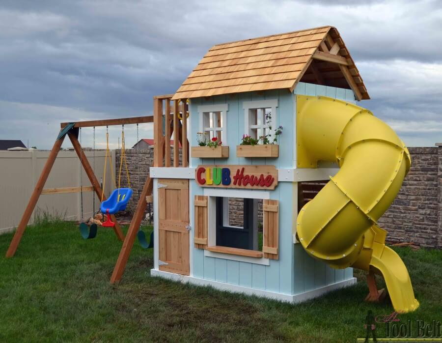 clubhouse playset