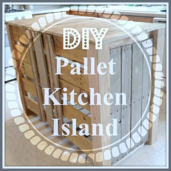 DIY kitchen islands from pallets
