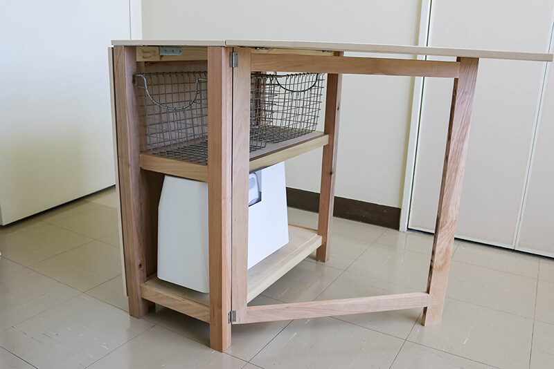 foldable kitchen island