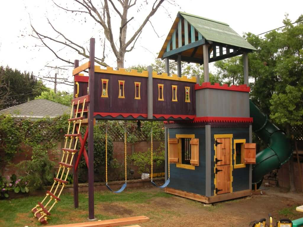 clubhouse style playhouse
