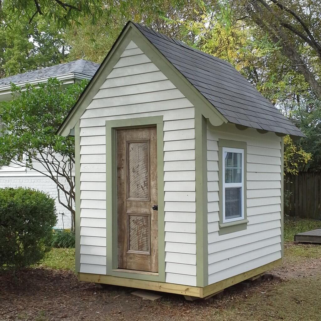 mini cottage playhouse plans