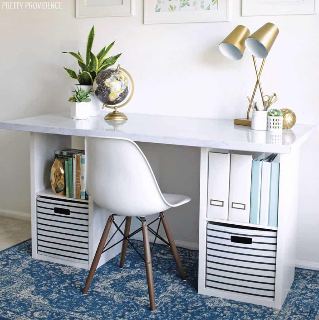 IKEA-style DIY desk