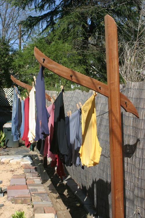 post clothesline