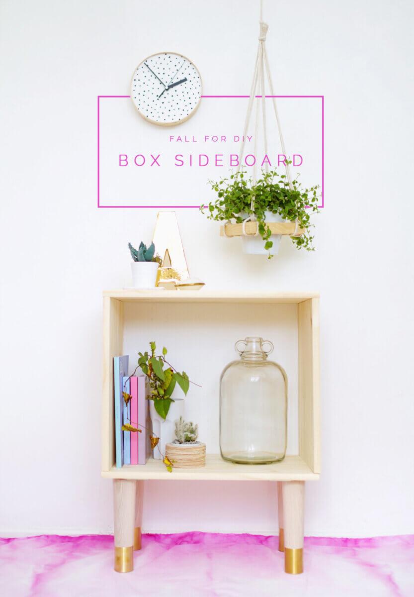 box sideboard nightstand