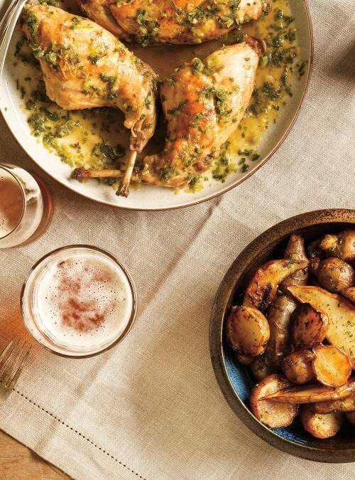 beer braised rabbit recipes