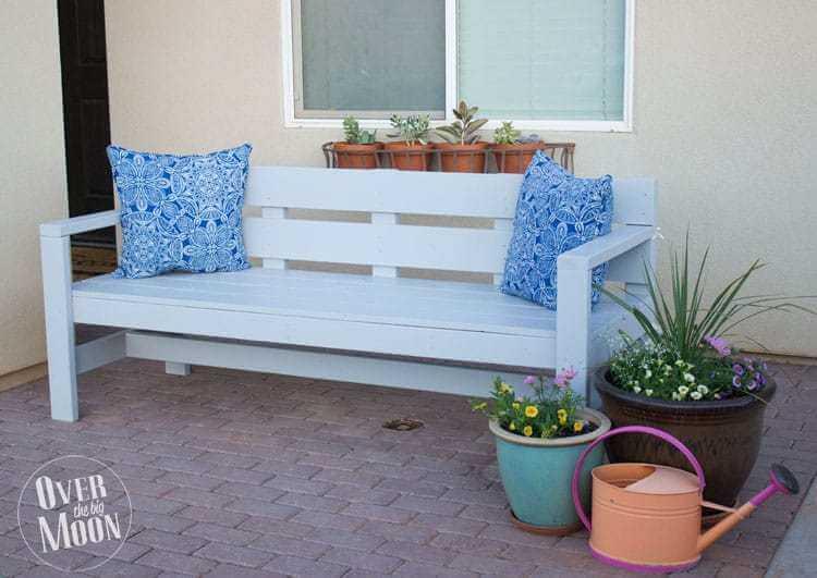 front porch garden bench