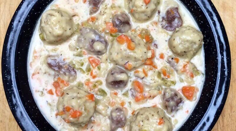 rabbit dumplings