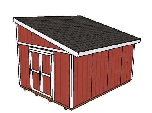 lean-to-shed
